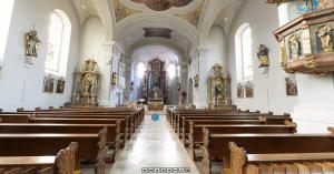 360° Panorama Rundgang durch die Pfarrkirche St. Vitus in Schnaittenbach