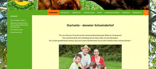 Demeter Schneinderhof in Vohenstrauß