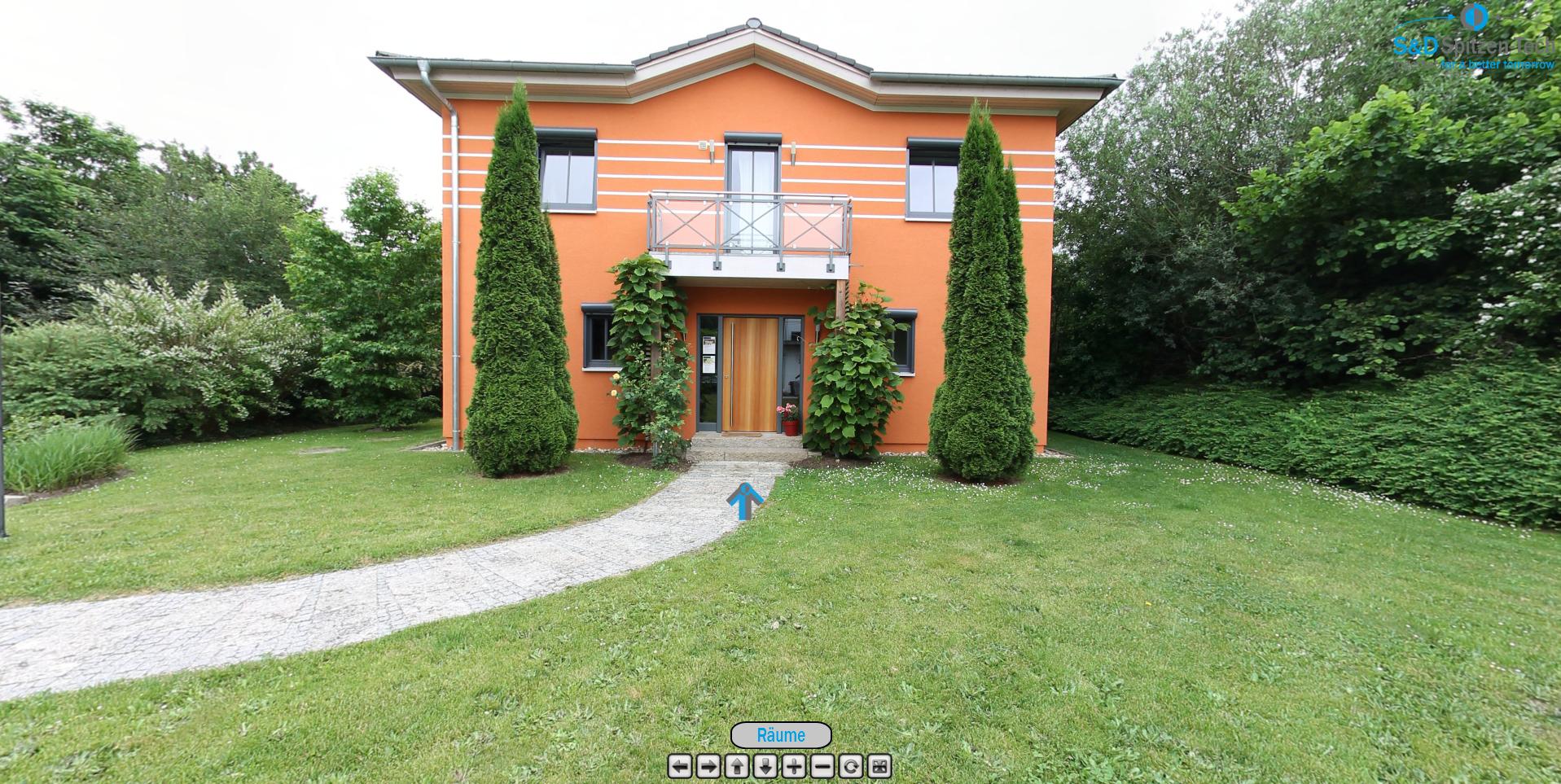 360° Panorama Rundgang – Fischerhaus