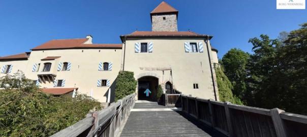 Panorama Rundgang Hotel Burg Wernberg