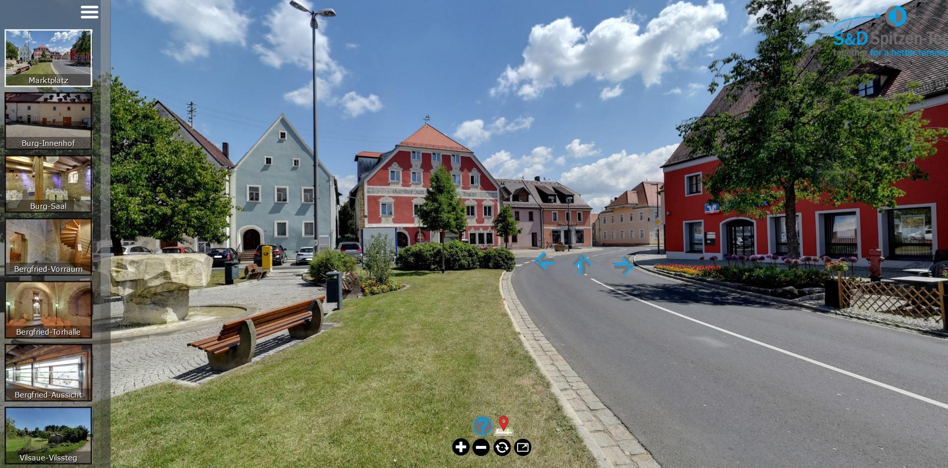 Virtueller Rundgang Stadt Vilseck